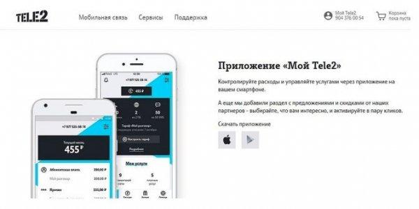 приложение мой теле2